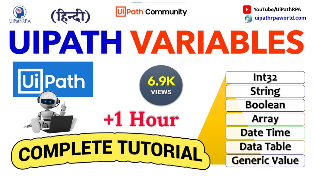 Complete UiPath Variables Tutorial Video with Practical Example