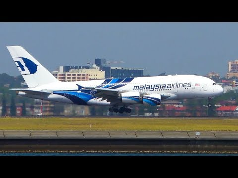 ALL 9 Airbus A380 Operators Landing at Sydney Airport | Sydney Aiport Plane Spotting