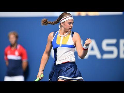 2017 US Open: Jelena Ostapenko R2 press conference