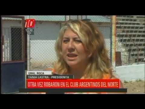 Gral. Roca: Otra vez robaron en el club Argentinos del Norte