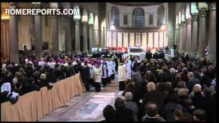 Ash Wednesday: Pope receives Cross in Rome's Basilica of Santa Sabina