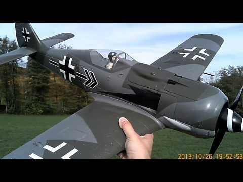 Parkzone Focke Wulf FW190 A8 FW-190 A-8 Funflight without retracts