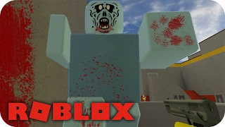 ROBLOX-SURVIVING THE ZOMBIES! 😱 Zombie Rush