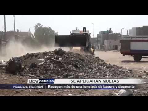 Campaña de limpieza en Víctor Larco