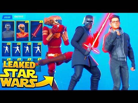 *LEAKED* Fortnite Kylo Ren & Zorii Bliss Star Wars Skins..!! (Fortnite X Star Wars)