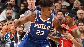 Jimmy Butler, Joel Embiid, Ben Simmons propel in 76ers' win vs. Wizards | NBA Highlights