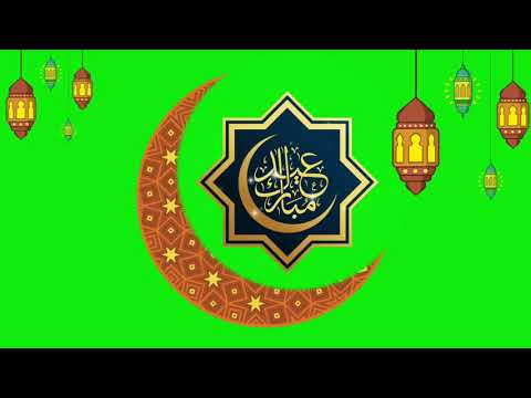 eid-mubark-2020-footage-of-green-screen