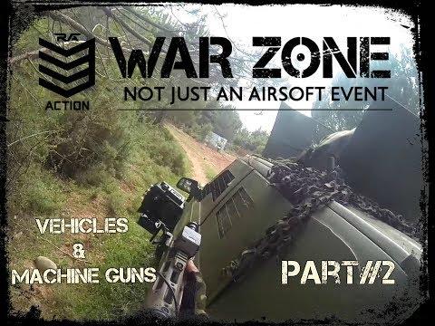 BIGGEST MILSIΜ-airsoft EVENT in GREECE!!!-PART 2- VEHICLES AND MACHINE GUNS!