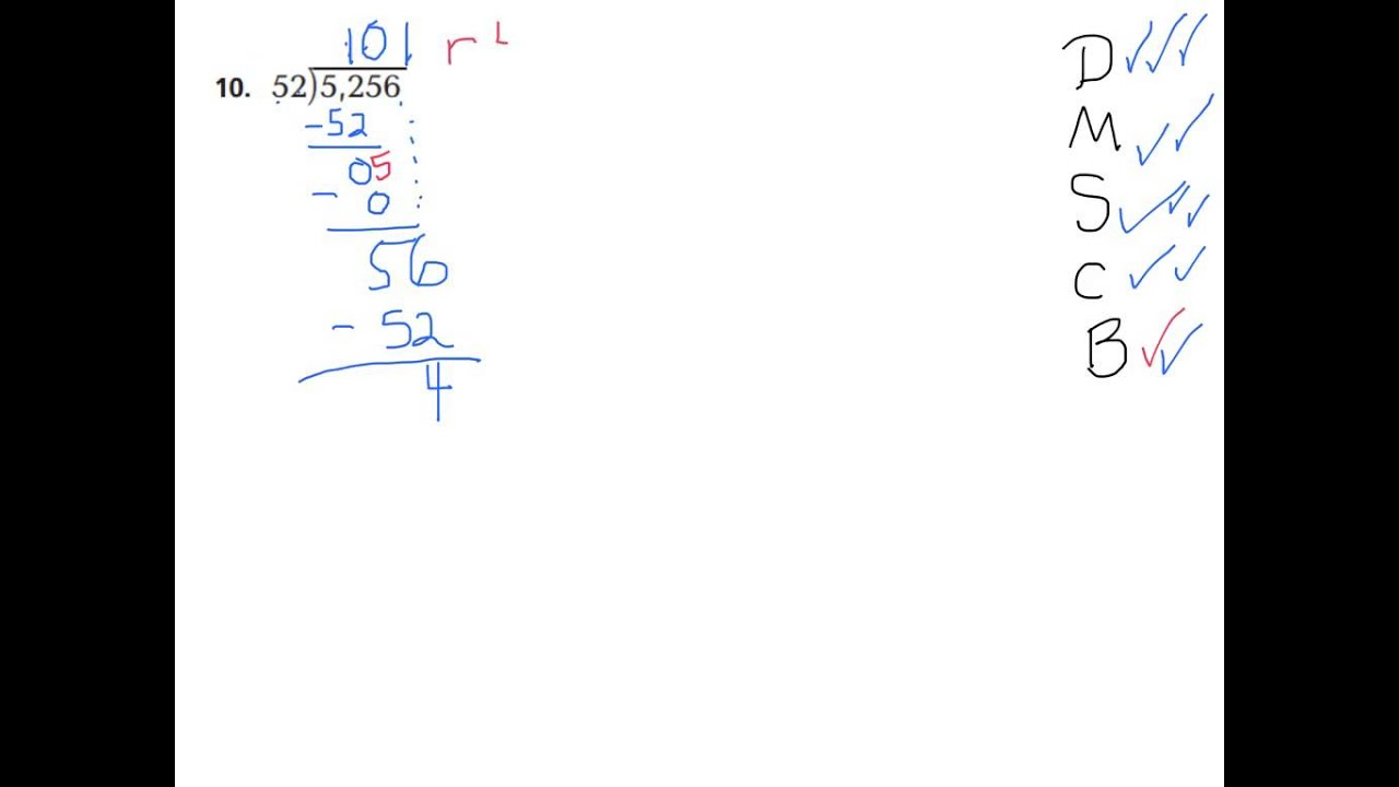 math worksheet : lesson 2 6 ide by 2 digit isor  youtube : Division With 2 Digit Divisors