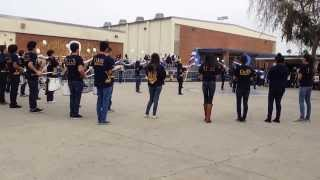 Garey High School Band 2014