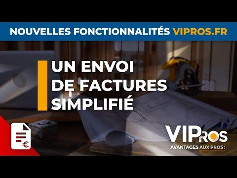 Un envoi de factures simplifié | VIPros.fr