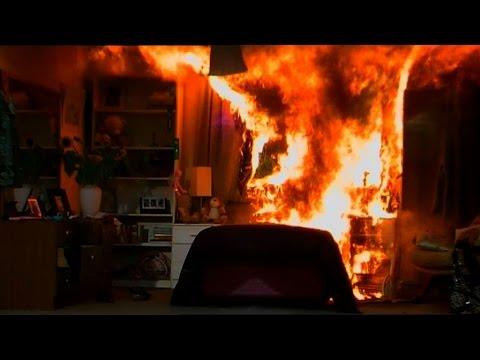 NSW Fires | How long do you have to escape a house fire? | How fast is fire?