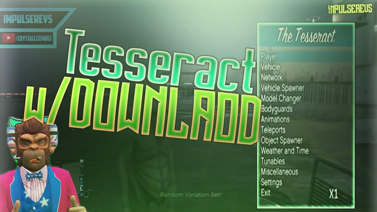 PS3/1.26/1.27] BEST GTA 5 MOD MENU - THE TESSERACT FREE w/Download