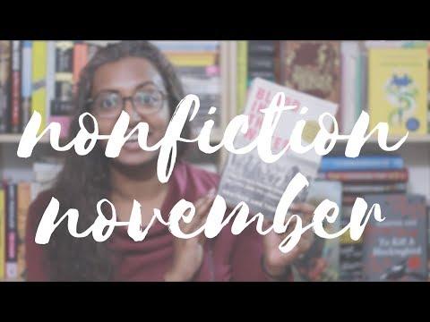 Nonfiction November TBR(ish)