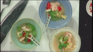 Mass Appeal Thai Tangy Seafood Soup With Scallop, Shrimp & Squid