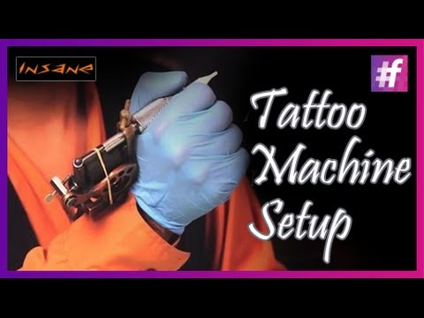 Tattoo Machine Setup Learn To Assemble A Tattoo Machine Youtube