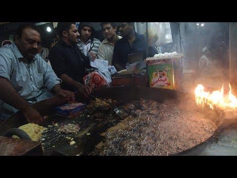 Taj Mahal Kebab House Yakatoot Peshawar | Pakistani Street Food Peshawar