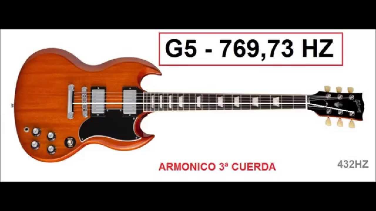 432 hz afinacion armonicos continua tuning guitar 432 hz youtube