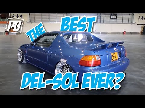 THE BEST HONDA DEL-SOL IN THE WORLD.