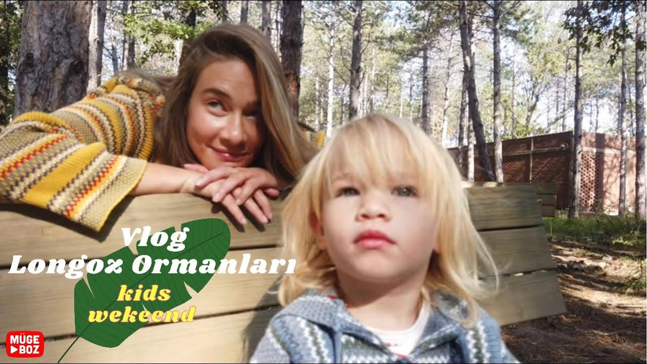VLOG  | Longoz ormanları kids weekend 💚 | Doğada harika aktivitelerle dolu bir haftasonu 🌈