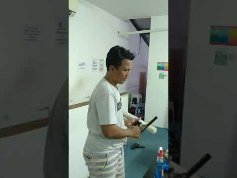 Jk'N Service melakukan General cleaning HR Recruitment Smartfren Bali-nusra di Denpasar