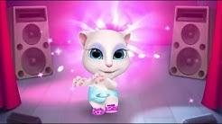 La gata ANGELA NUEVO!  - Estudio de BAILE. La gatita Angela bailando. Talking Tom Baile