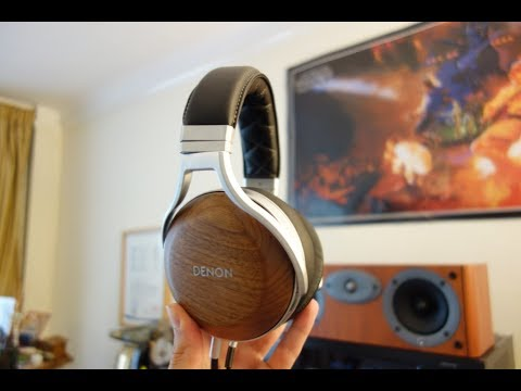 Denon AH-D510R Over-Ear Headphone Review - YouTube