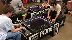 New Atari 3D Pong Arcade Game PinFest Allentown Pennsylvania 2018