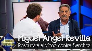 Miguel Ángel Revilla contesta al que reprime al que insultó a Pedro Sánchez - El Hormiguero 3.0