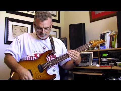 Eddie Van Halen Live Solo Tap Harmonic Lick Lesson