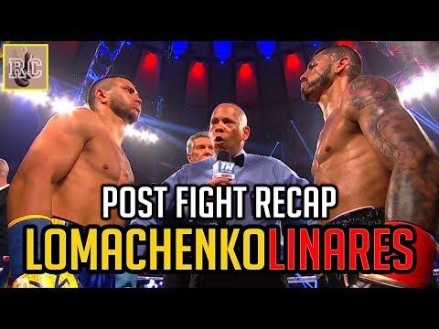 Vasyl Lomachenko vs Jorge Linares - Post Fight Recap