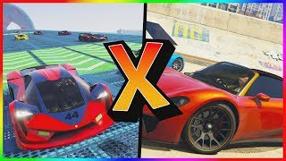 GTA V Online: TEZERACT Vs. PFISTER 811 l SPEED TEST