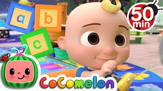 Learn Your ABC&#39s with CoComelon + More Nursery Rhymes &amp Kids Songs - CoComelon
