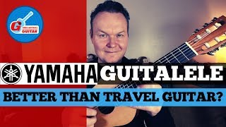 Yamaha Guitalele Review 2019 - Better Than Travel Guitar?