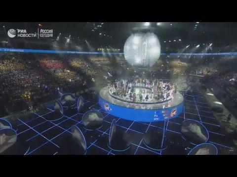 Церемония открытия XIX Всемирного фестиваля молодежи и студентов в Сочи