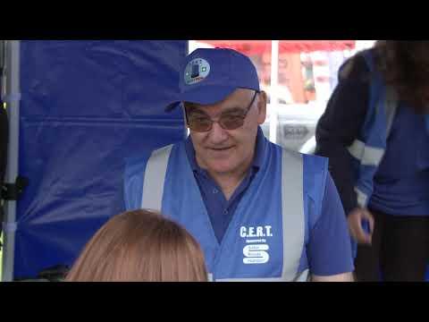 Blue Lights Brigade and Community Emergency Response Team