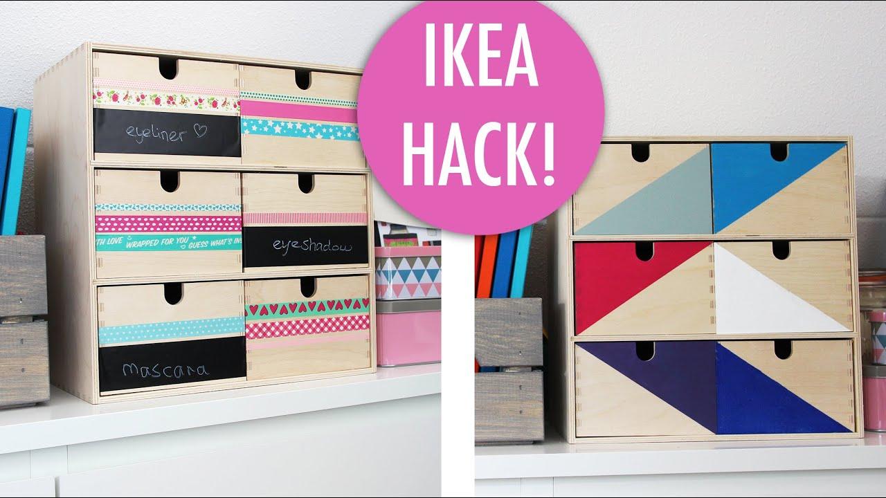 Cadeaus maken   IKEA HACK Moppe kastje versieren DIY   YouTube