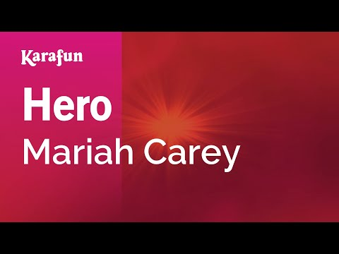 Karaoke Hero  Mariah Carey *
