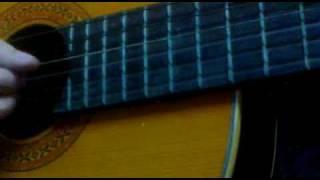 Riêng mình anh cô đơn-Guitar acoustic cover