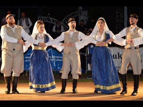 Darwin Greek Glenti 2017 GREEK TRADITIONAL DANCE GROUP  KRITIKA