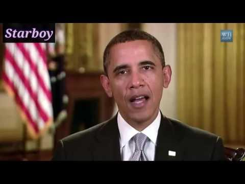 Obama sings Starboy