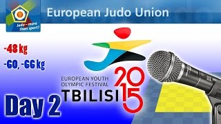 European Youth Olympic Festival - Tbilisi 2015 - Day 2