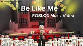 "Lil Pump ""Be Like Me"" ROBLOX Music Video"