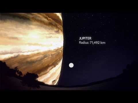 Amazing video: Planets viewed from Earth as if they were at the distance of our moon