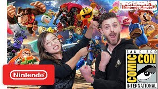 Playing Super Smash Bros. Ultimate with YOU at Comic-Con - Nintendo Minute