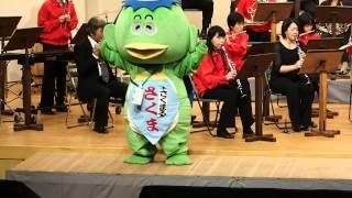 2014.12.20ウィーン交流コンサート第一部さくまるくん妖怪体操第一を踊るPC206443