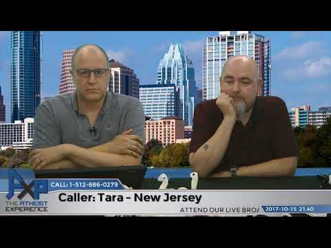 Why God Reveals Himself to Some & Not Others   Tara – NJ   Atheist Experience 21.40