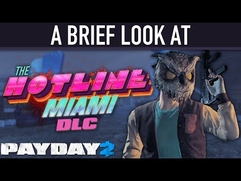 A brief look at The Hotline Miami DLC. [PAYDAY 2]