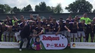 Finaltag der Amateure - FC Nöttingen feiert
