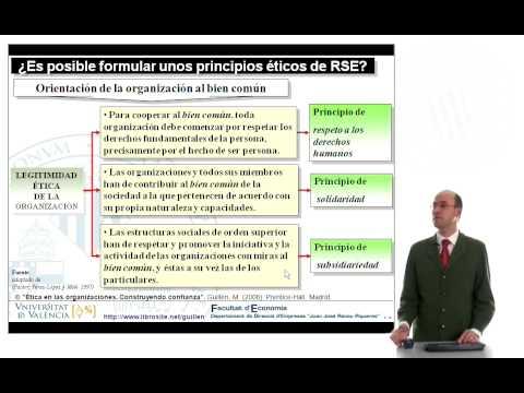 RSE Responsabilidad Social y ética empresarial. Construyendo confianza - 7/7
